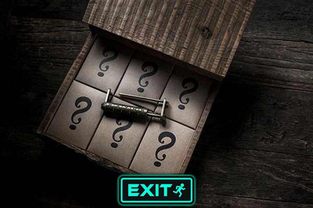 Escape Game Escape The Mystery Room, Exit Escape Games Egypt. Cairo.